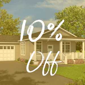 10 perfect off for cash buyers at Brenton Communities